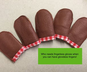 Reinforced Finger Guards for Felting