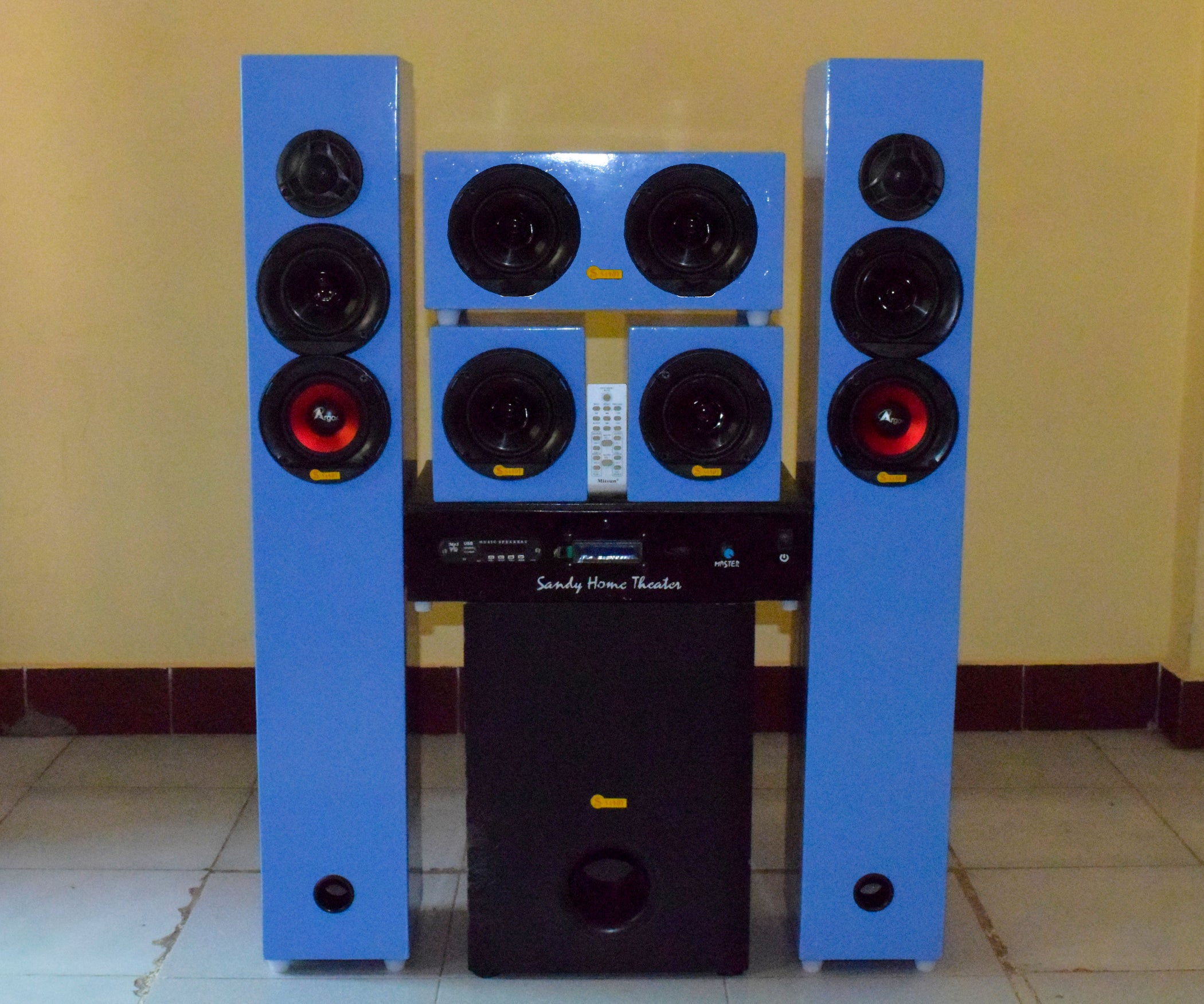 Diy 51 Home Theater System 700watt Rms 12 Steps With Pictures 300 Watt Subwoofer Power Amplifier