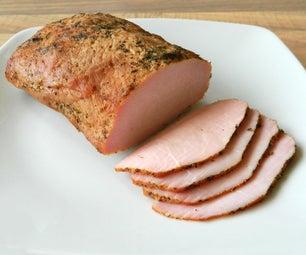 Homemade Pork Lunch Meat