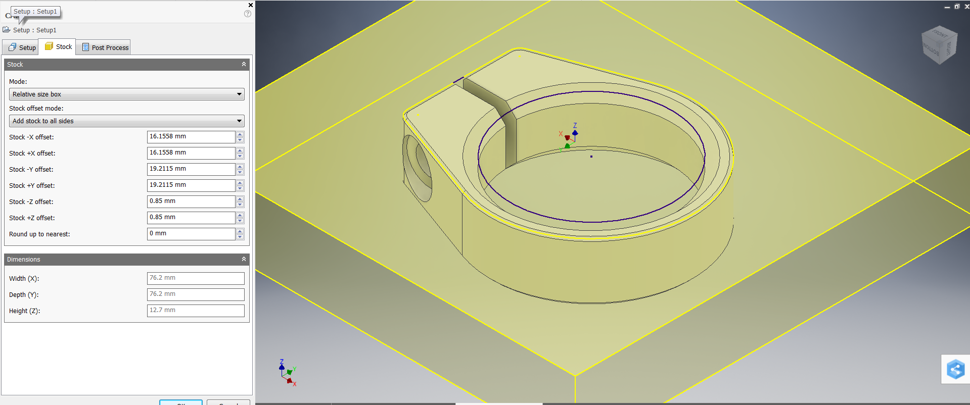 Picture of Set Up Coordinate System