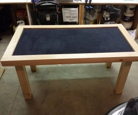 Reversible Top Board Game Table