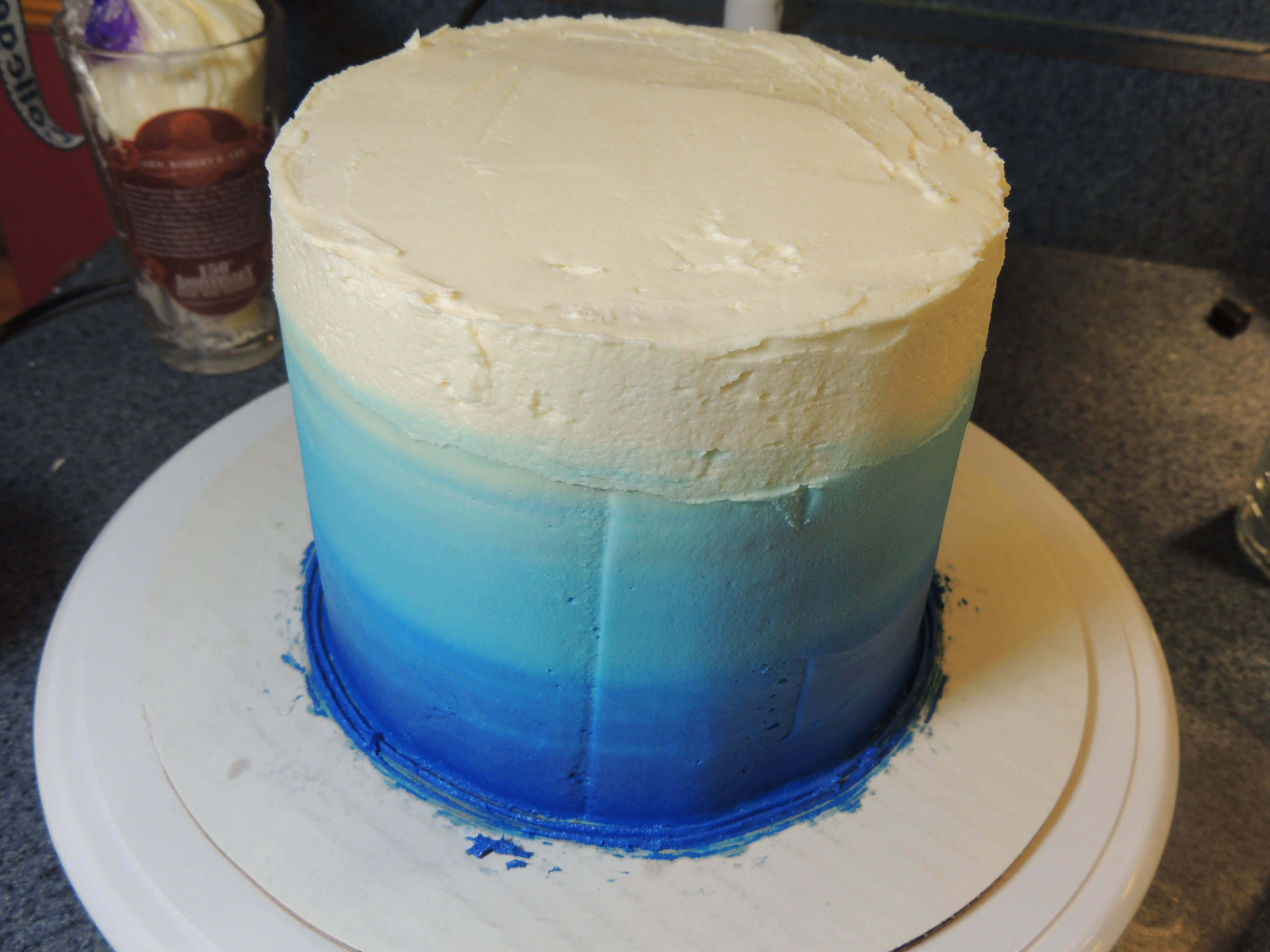 Picture of Frosting the Cake