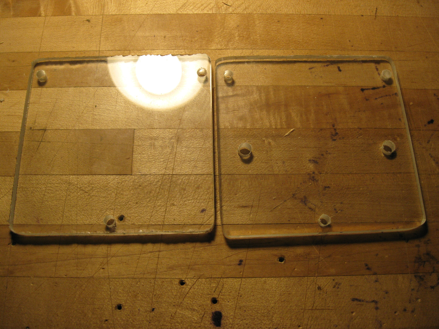 Picture of Making the Mounting Plates