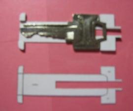 Spring Loaded House Key Sliding Knife (In Development)