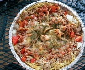 Campfire Spaghetti Casserole