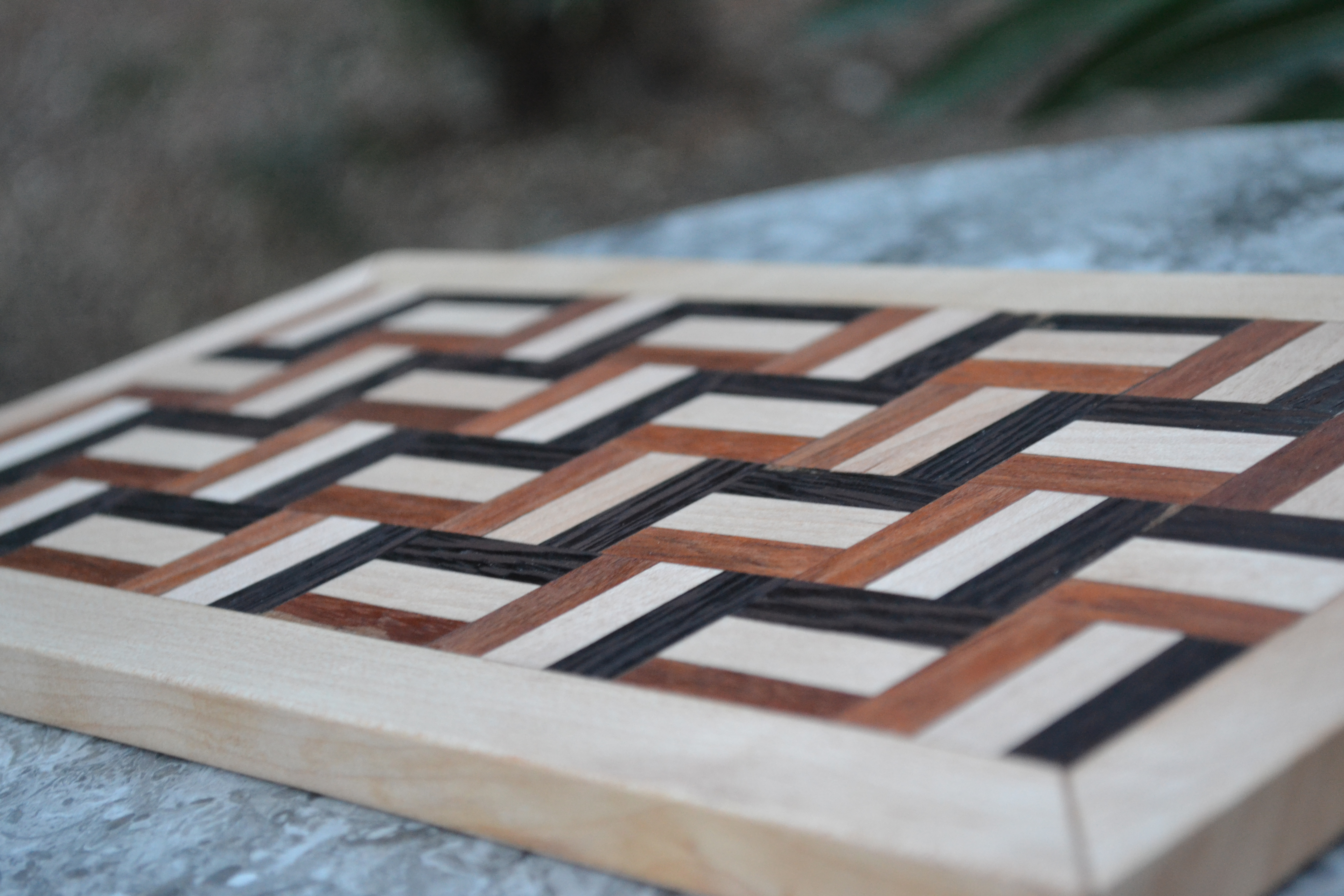 Picture of Handcrafted 100-piece Segmented Cutting Board!
