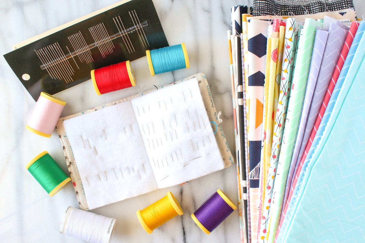 Tools and Materials for Hand Sewing