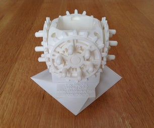 3D Printing Moving Parts Fully Assembled - 28-Geared Cube