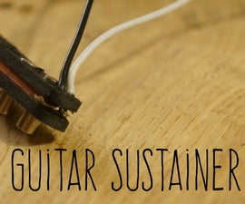 Guitar Sustainer (Driver)