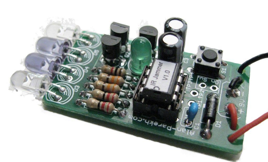 IR Remote Control Jammer: 3 Steps