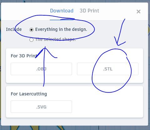 Picture of Step 9: Exporting Your 3D Model