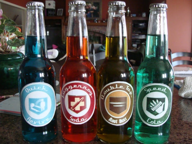 Call Of Duty Zombies Perk Cola Bottles 8 Steps With Pictures Instructables