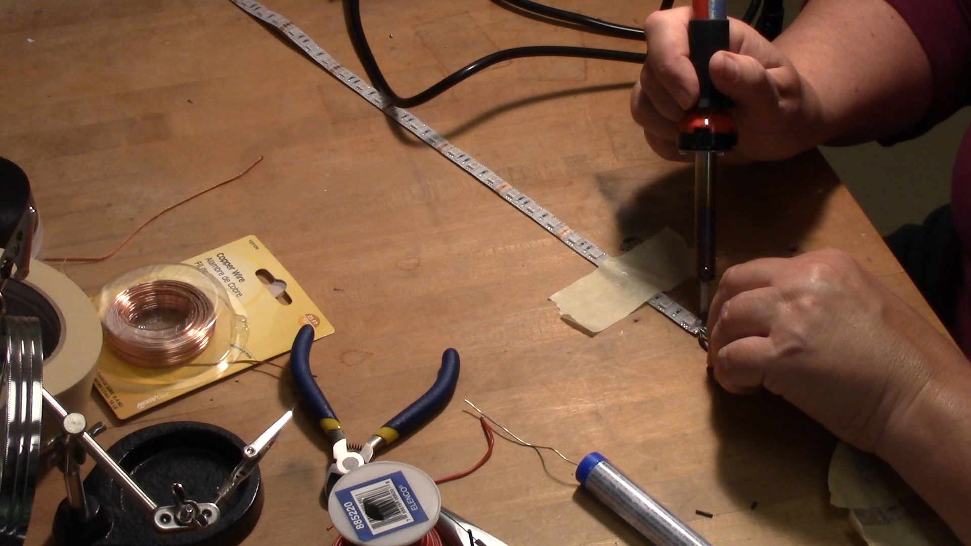 Picture of Solder and Test the Electrical Components