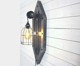 Industrial Sconce Wall Lamp