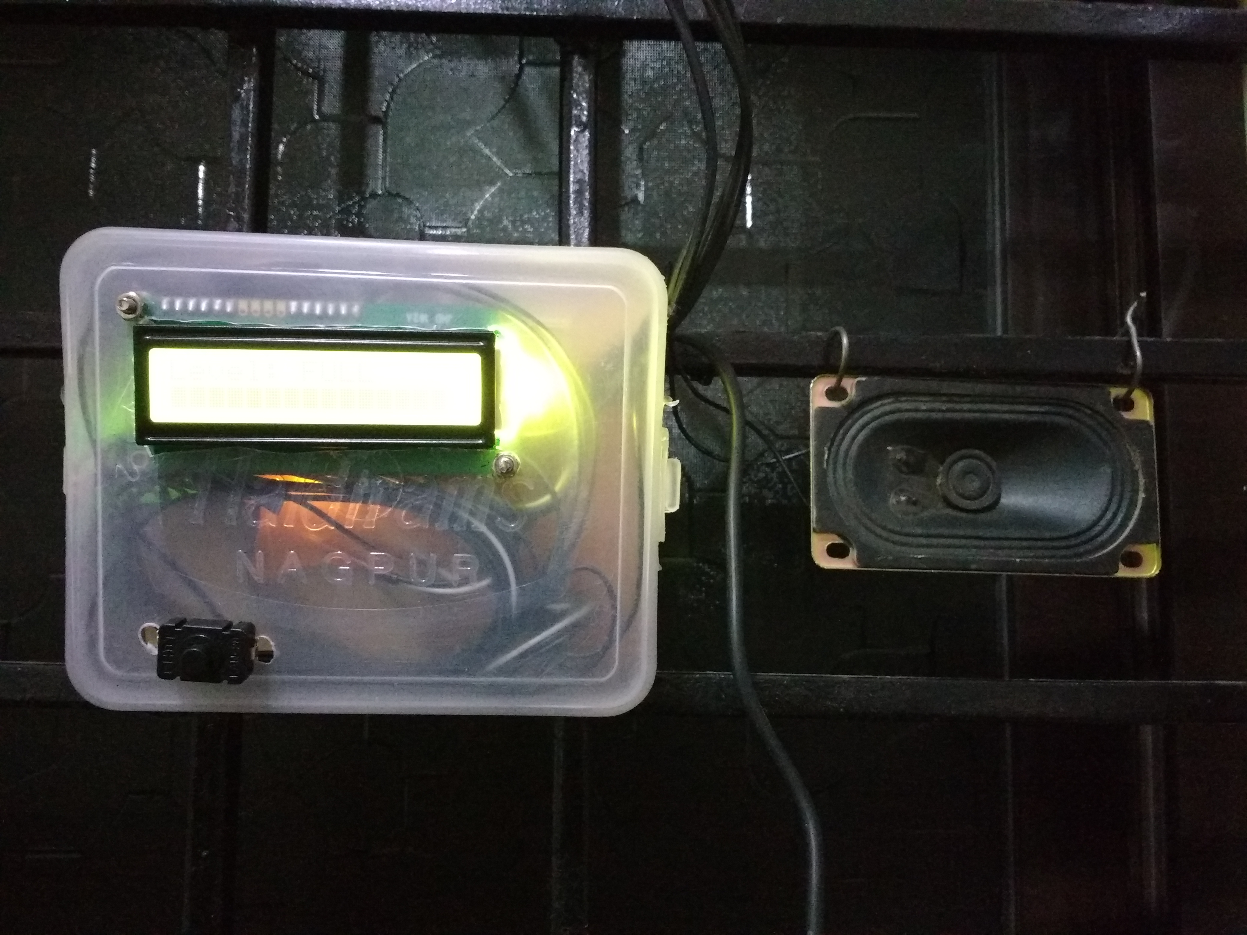 Picture of Water Level Indicator Cum Notifier Using HCSR04