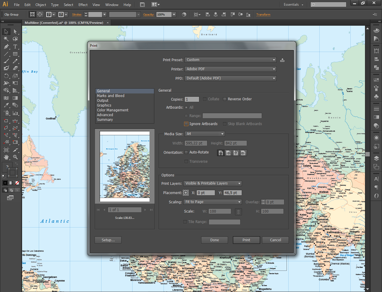 Picture of Editing Your Vector Maps in Illustrator