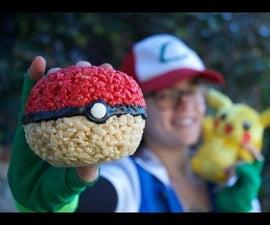 Poke-pumpkins / Pokemon Rice Crispy Ball