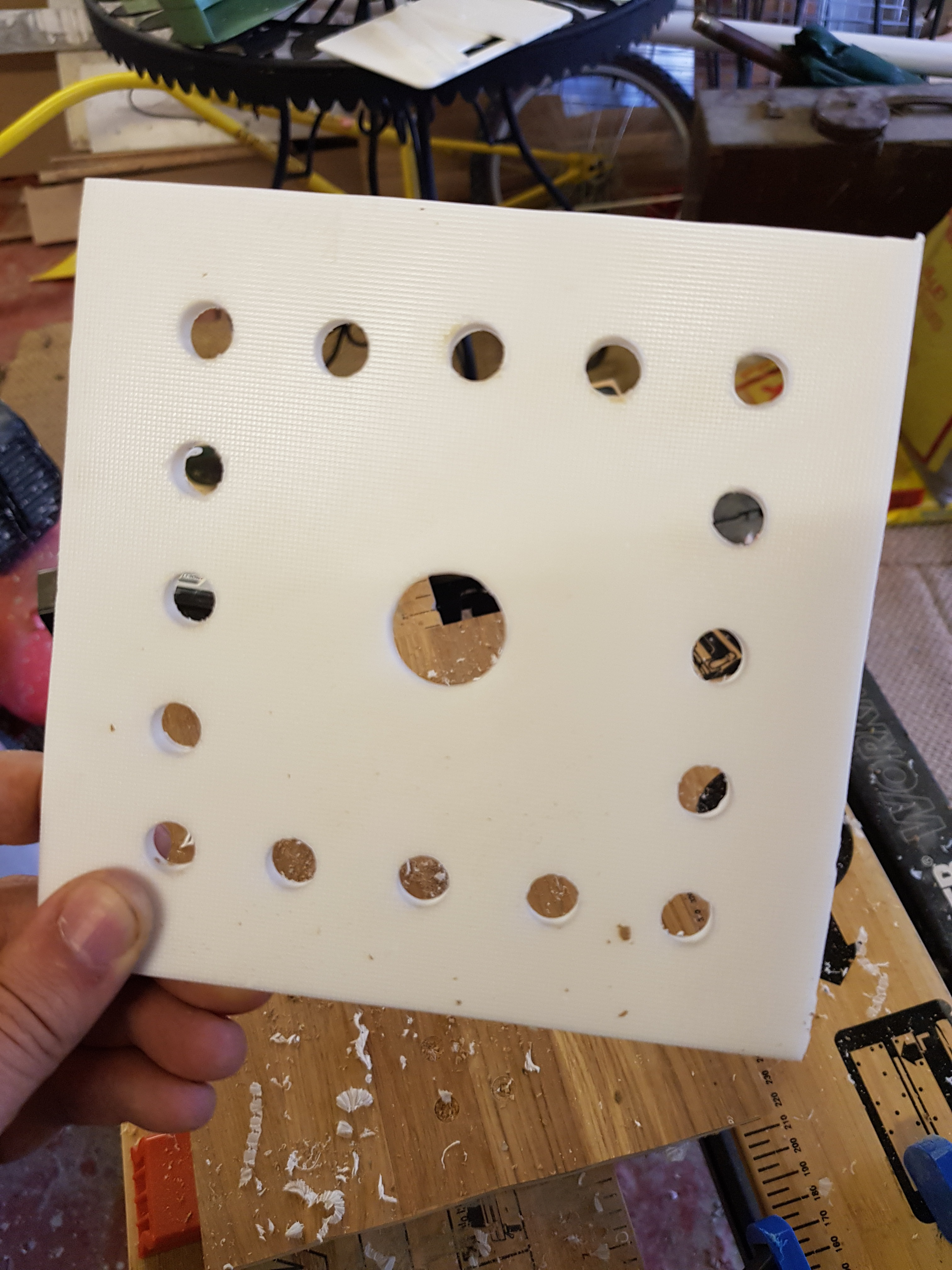 Picture of Cut Out the Mounting Board