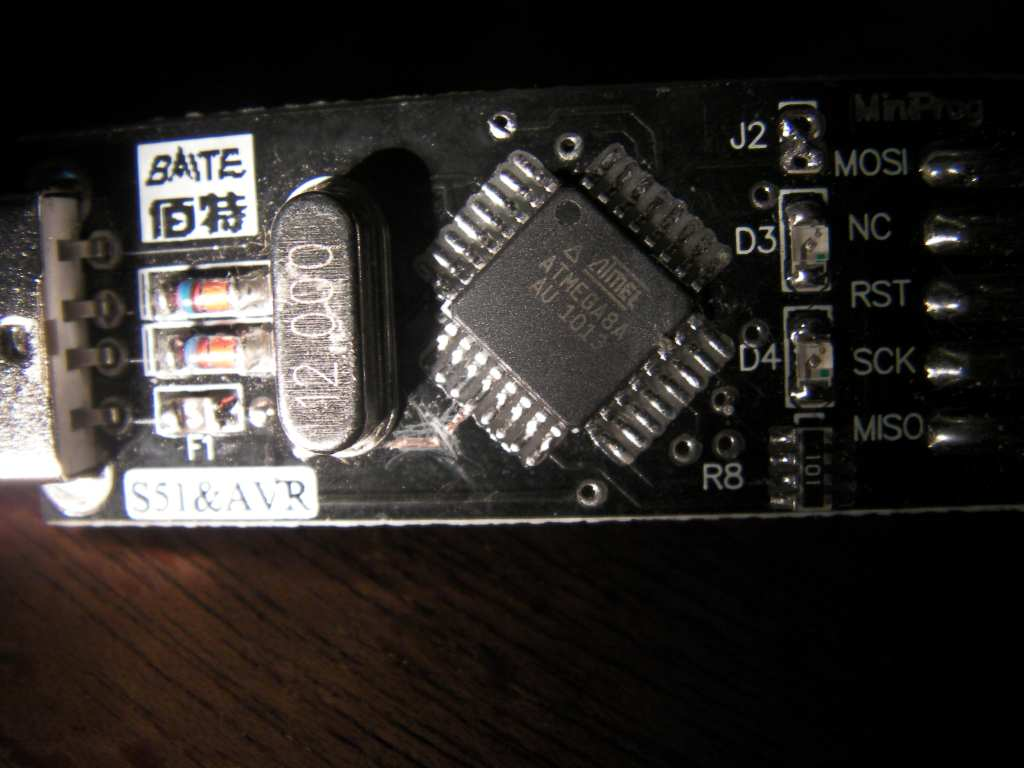 Picture of Hacking a USBasp Dongle Into a PPM2USB RC SIM Dongle