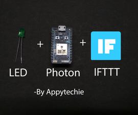 IFTTT Using Photon