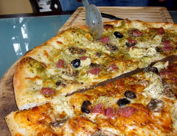 Perfect Thin Crust Pizza in 7 Minutes Cook Time