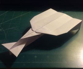 How To Make The MetaVulcan Paper Airplane