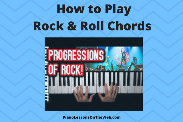 Picture of How to Play Rock & Roll Chord Progressions on the Piano