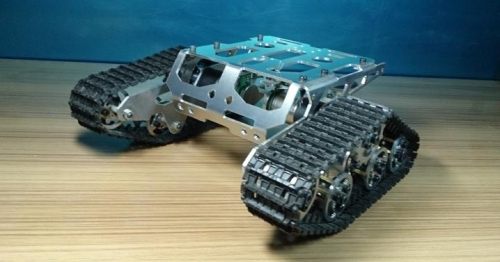 Picture of Assemble the Shock Absorber Walee Tank Chassis