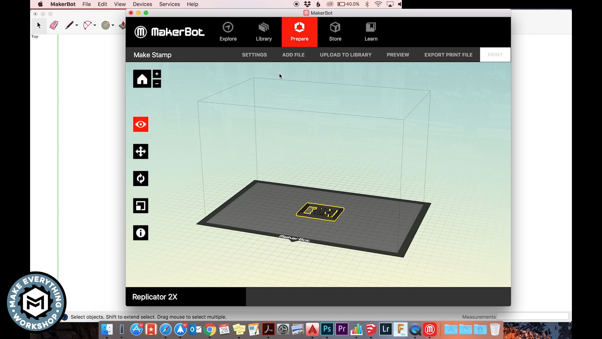 Picture of 3D Print Your Stamp