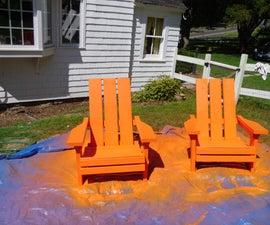 Solid Wood Adirondack Chairs