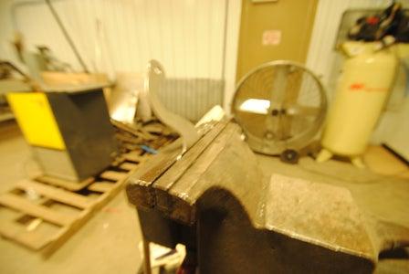 The Vandals Broke the Handle - Gearhart Knitting Machine Repair With Lasers