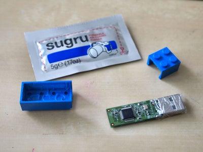 Prepare Lego and Flash Drive