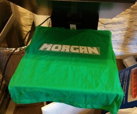 Using a Silhouette cutter to make a slogan t-shirt