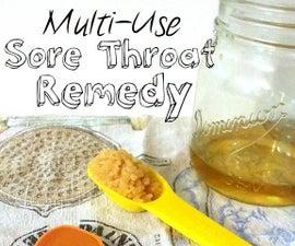 Multi-Use Sore Throat Remedy