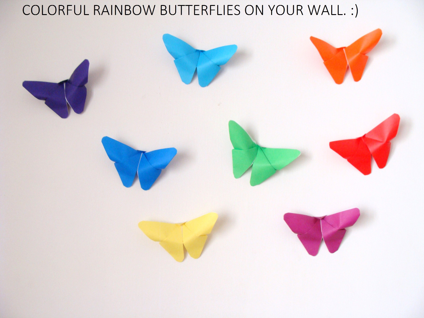 Picture of Butterfly Origami Wall Decor
