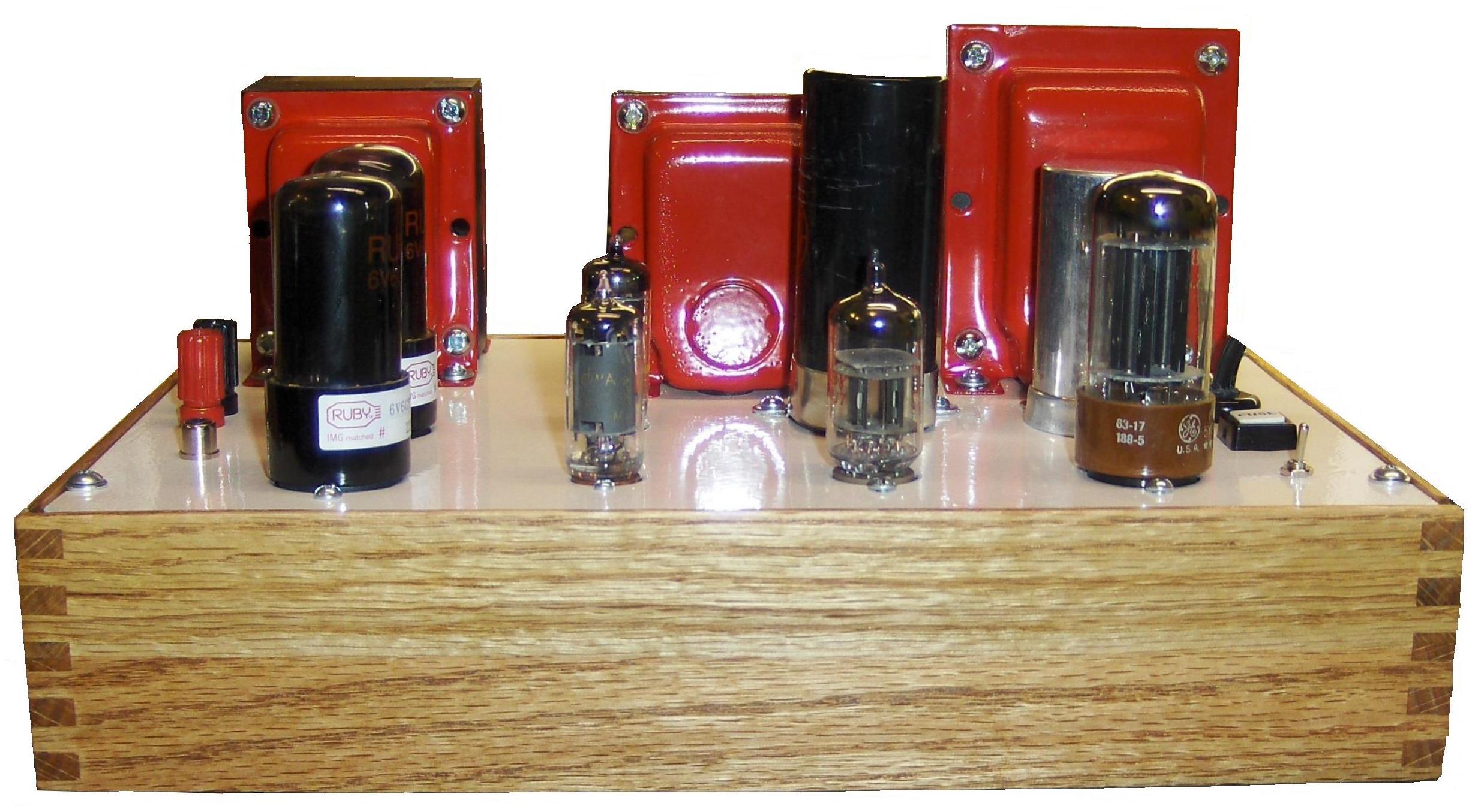 Picture of 6V6 Pushpull Calss AB Tube Mono Amp.