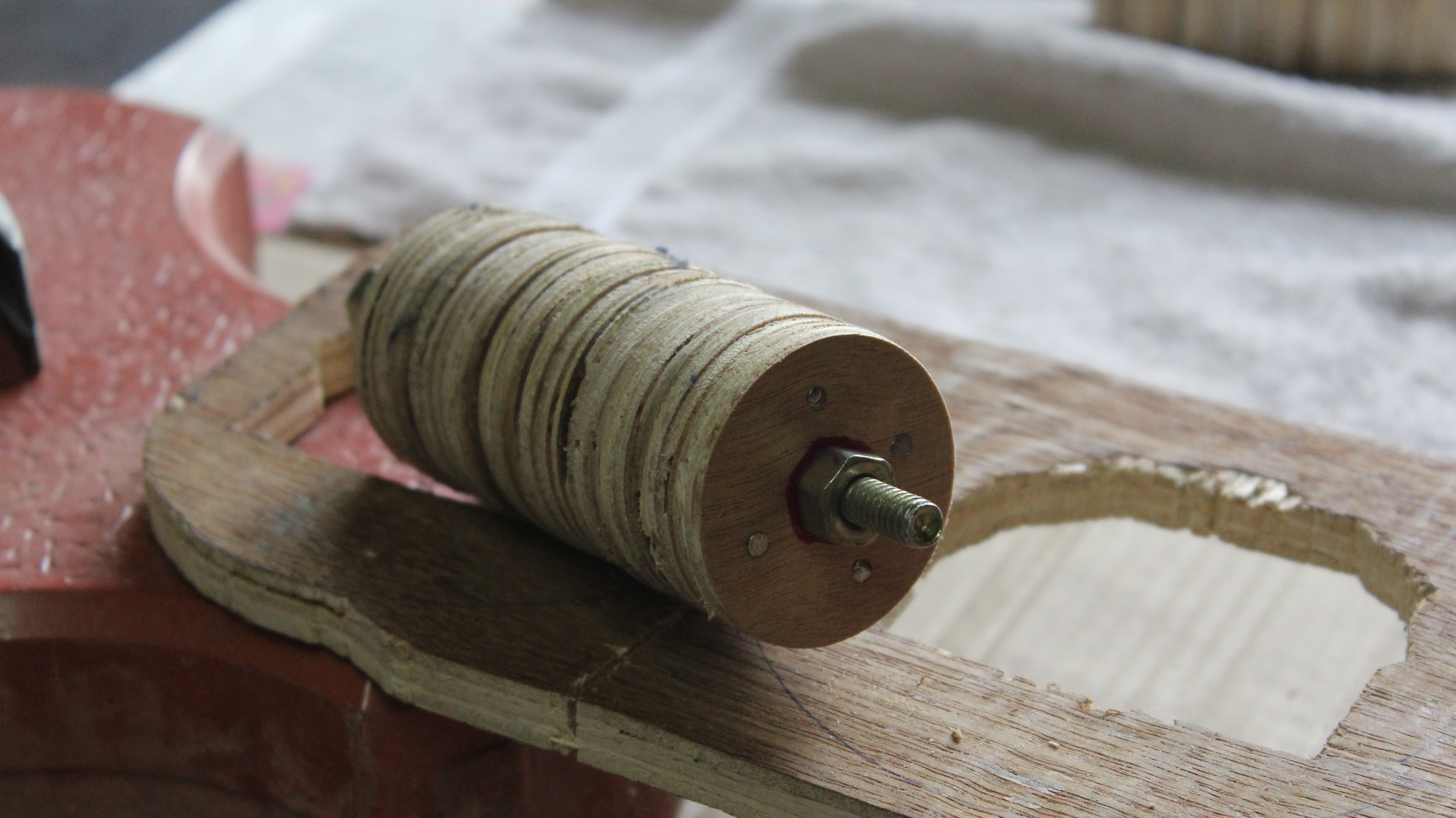 Picture of Making the Wooden Roller