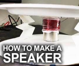 Make a Real Working Speaker for Under $1.00!