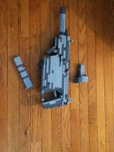 Lego Vector CRB With Holographic Sight