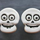 Halloween skull cookies - video tutorial