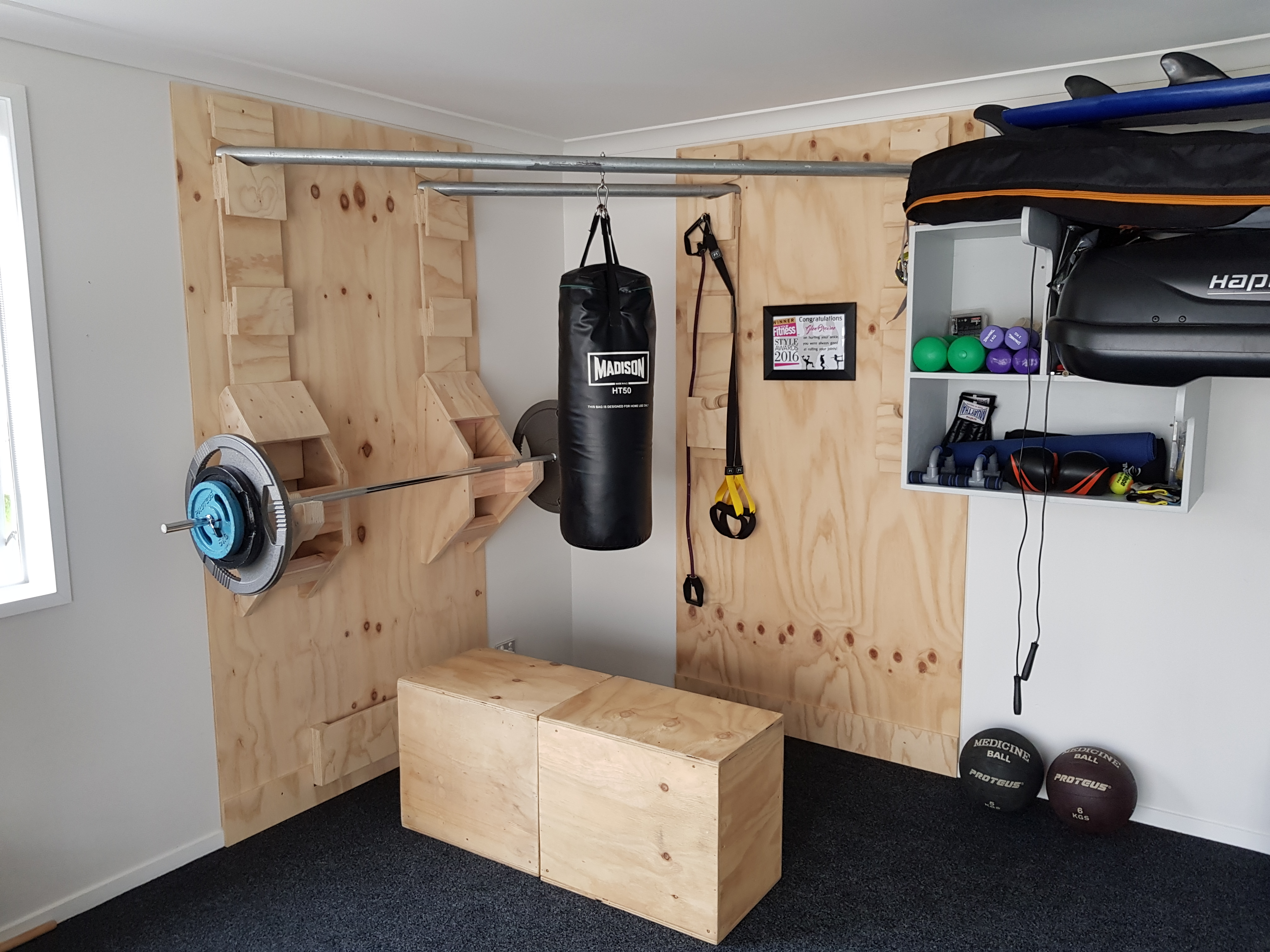 Picture of Functional Corner Home Gym