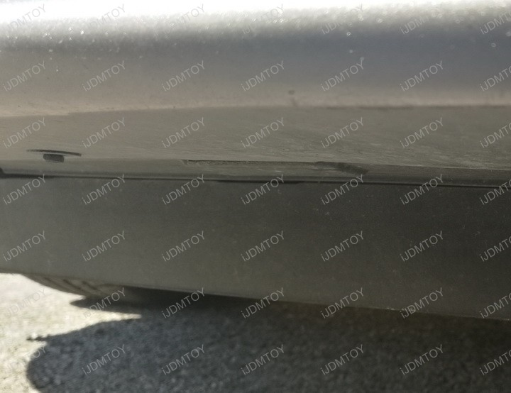 Picture of Remove the Screws Below the Bumper.