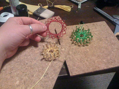 String Art Necklace