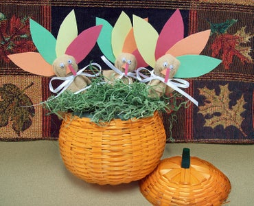 Fall Crafts: Turkey Lollipop