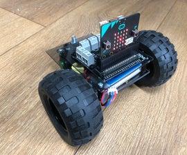 Simple Micro:bit Robot With Lego Technics Wheels