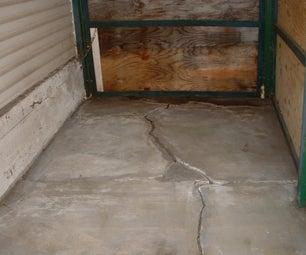 Pour a Floating Concrete Floor