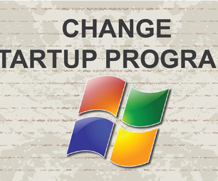 How to Change Startup Programs Windows 7