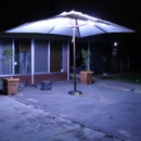 LED outdoor umbrella lighting