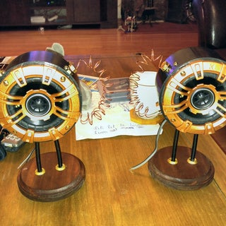 Steampunk Speakers