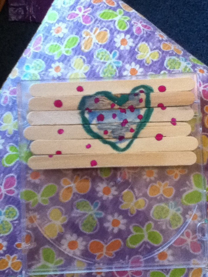 Picture of How to Make a Popsicle Stick Puzzle